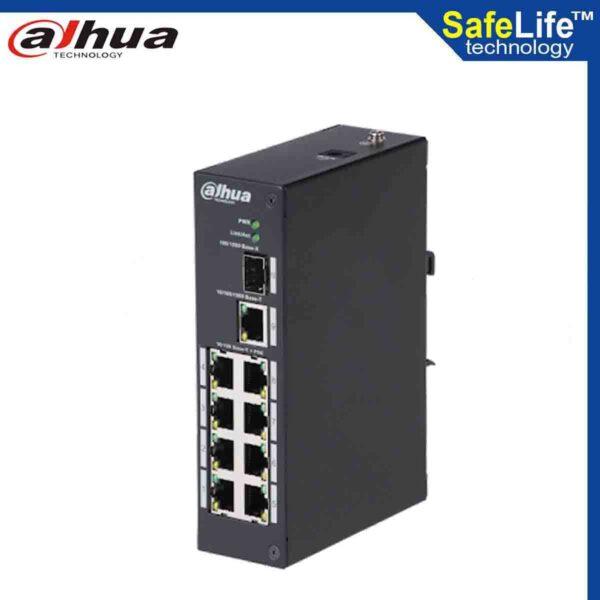 DAHUA 8 port digital video recorder DH-PFS3110-8P-96 in Bangladesh - Safe Life Technology
