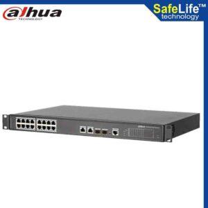 DAHUA 16 port digital video recorder PFS4218-16ET-190 in Bangladesh - Safe Life Technology